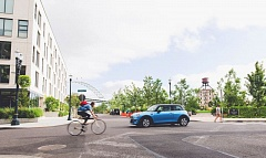COURTESY REACHNOW - A ReachNow car cruises Northwest Portland.