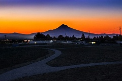 COURTESY PORTLAND PARKS FOUNDATION - Portland Parks Foundation is teaming up with Portland Parks and Recreation in completing funding to open Thomas Cully Park, shown at sunrise, on former construction landfill in Northeast Portland's Cully neighborhood.