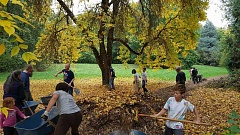 PHOTO COURTESY OF PORTLAND PARKS & RECREATION - Community members can help out at community gardens, neighborhood parks and natural areas during Parke Diem on Oct. 14-15.
