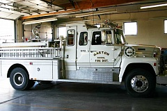 SUBMITTED PHOTO - Gaston Rural Fire District Engine 1173 was destroyed by a 1983 fire, then rebuilt and used until 2009.