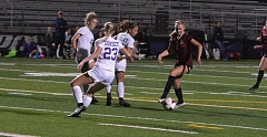 TIMES PHOTO: MATT SINGLEDECKER - Southridge forward Alexis Marino scored two pivotal second half goals to help the Skyhawks beat Sunset 3-2 on Thursday.