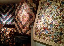 Quilts of all types will be on display at this year's quilt show in Aurora.