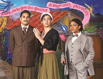 SUBMITTED PHOTO - Portland-based Milagro theater company will perform a bilingual play based on the early life of famed artist Frida Kahlo, at the Chehalem Cultural Center this weekend.