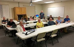 SUBMITTED PHOTO - The Jefferson County Amateur Radio Group, which has been around for years, has re-established its group, which is now meeting monthly, at the Jefferson County Sheriff's Office. For more information, contact Mark Carman, Jefferson County emergency manager.