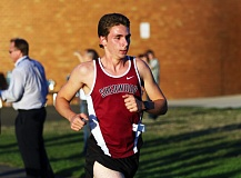 DAN BROOD - Sherwood High School junior Josh Quaglio ran to second place at last week's Three Rivers League meet at Newberg High School.