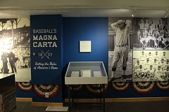 COURTESY: OREGON HISTORICAL SOCIETY - 'Baseball's Magna Carta' exhibit at Oregon Historical Society includes the 'Laws of Base Ball' document.