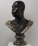 SUBMITTED PHOTO:  - Included in Open This End is Kehinde WIleys Adwale bronze (2010), on exhibit through Dec. 11. Curator  Joseph R. Wolin will speak about the exchit at 7 p.m. Oct. 25 in Miller 105 on the Lewis & Clark campus.