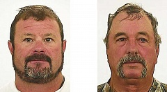 SUBMITTED PHOTOS - Justin Alpin, left, and his father, Jerry Alpin, were found guilty of poaching-related charges after a three-day trial.