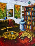 COURTESY IMAGE - Penny Forrest enjoys painting the surroundings in which people are immersed in daily.