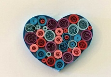 SUBMITTED PHOTO  - Learn the art of paper quilling at a special class to be held Nov. 12.