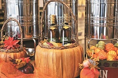 JAIME VALDEZ - Oils and vinegars are good ideas for the upcoming holidays. Featured from The Oilerie is the Truffle Extra Virgin Oil for Thanksgiving meals and Fig Balsamic for salads.