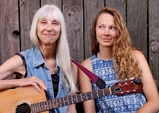 SUBMITTED PHOTOS  - Sherrie Wolf, left, and her daughter, Sarah, will present a concert with Dale Jones on bass at Lake Theater & Cafe on Nov. 21.