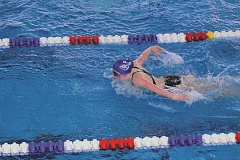 INDEPENDENT FILE PHOTO - Woodburn hasn't fielded a swim team since 2011-12, due to budget cuts, but thanks to a partnership with the Woodburn Aquatic Center, the program is being resurrected in the form of a club sport this season.
