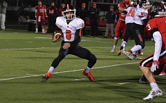 TIMES FILE PHOTO - Beaverton senior quarterback Carson Crawford was named the Metro League Offensive Player of the Year.
