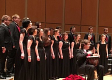 FILE PHOTO - Pacific University's choral ensembles will perform a holiday concert Saturday, Dec. 3 at Taylor-Meade Performing Arts Center on the Forest Grove campus.