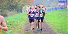 TIMES FILE PHOTO - Sunset senior Jakob Tew was one of three Apollo seniors to be named first-team all-Metro cross country team after helping Sunset split the Metro championship with Jesuit.
