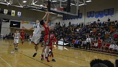 TIMES FILE PHOTO - Westview senior guard Zac Schmerber and the Wildcats made a big statement at the Les Schwab Invitational last year and hope to do the same this season.