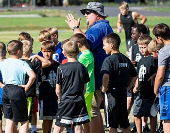 Football Camp readies players for season