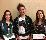 Three Mustangs get $2,500 scholarships