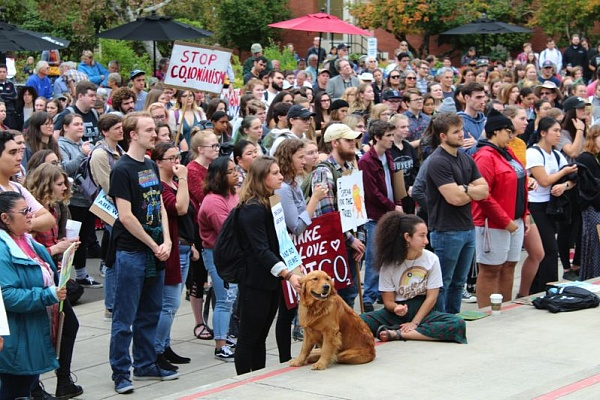 Pacific University plays host to 'Climate Strike'