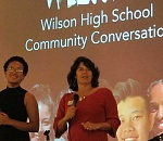 Wilson High students of color share experiences that resulted in…