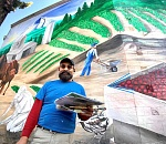Portland artist brings agriculture to life at Lake Oswego…