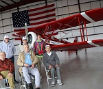 Lake Oswego veterans fly in plane built to train WWII pilots