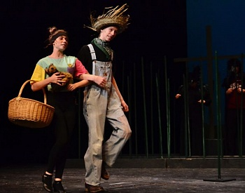 High school thespians prepare to transport audiences to Oz