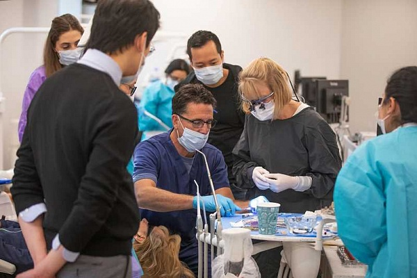 New dental center provides hub  for continuing ed, charitable work