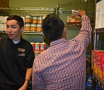 College foundation raises funds for Barney's Pantry