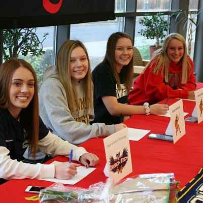 Four Clackamas student-athletes confirm college game plans