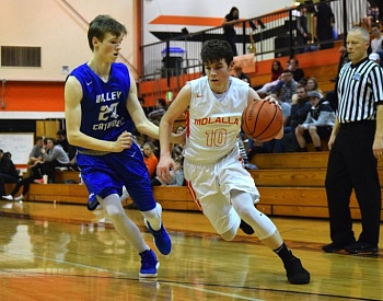 Molalla boys basketball team focused on hustle points, playoffs