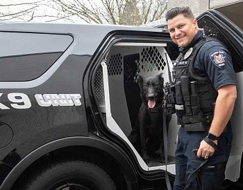 Hillsboro Police Department adds first female K-9