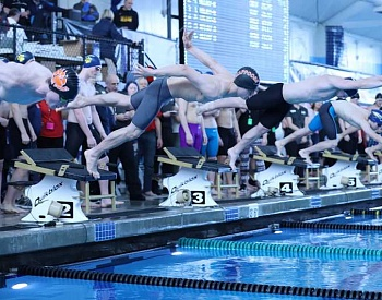 Scappoose boys swimming places eighth at Class 5A state meet