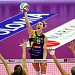 Volleyball star Kim Hill on hold in Italy