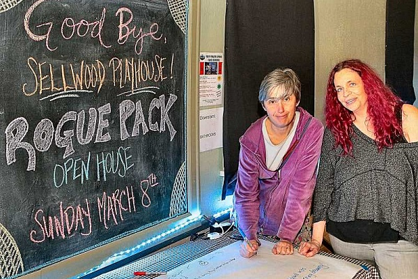 'Rogue Pack' to move - Sellwood Playhouse is for sale