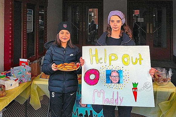 Llewellyn students hold 'Help Heal Maddy' bake sale