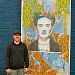 Woodstock artist helps beautify boarded-up Foster Rd storefronts
