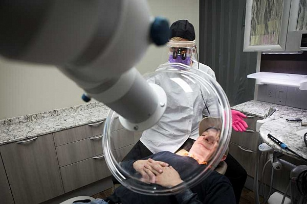 Tigard dentist takes safety one step further
