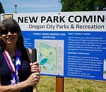 Oregon City breaks ground on construction of memorial park