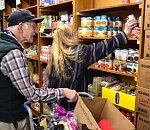 Sandy Community Action Center opens for pantry shopping by…