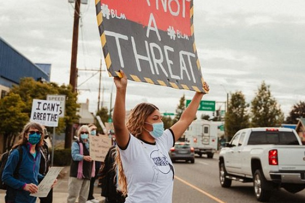 Anti-racism protesters form Sandy STAND UP Movement