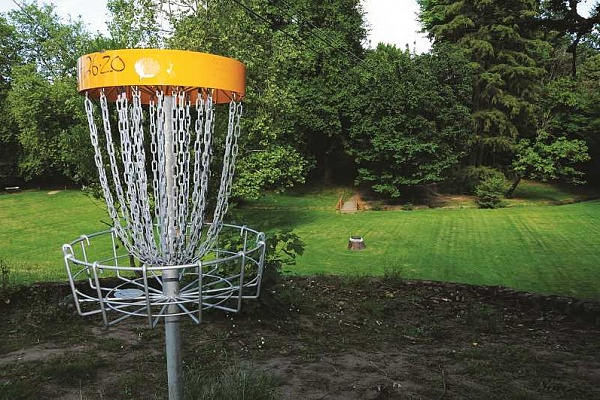 CPRD replaces disc golf course at Hoover Park