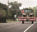 Beware of slow-moving ag vehicles ahead