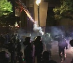 Riot declared at downtown Portland protest Wednesday night