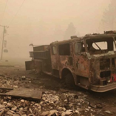 Oregon's wildfire crisis enters its second week