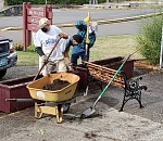 Seven planters restored at Milwaukie Historical Society…
