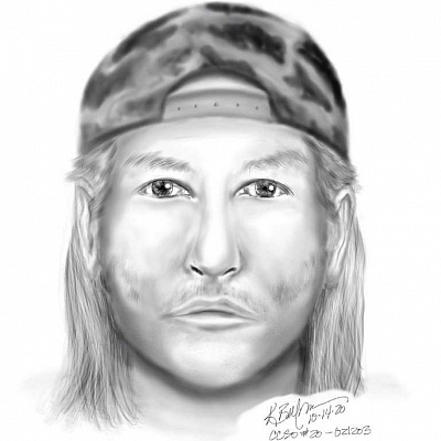 Forensic sketch shows Happy Valley road-rage suspect