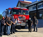 Sandy Fire Department receives community aid during Oregon fires