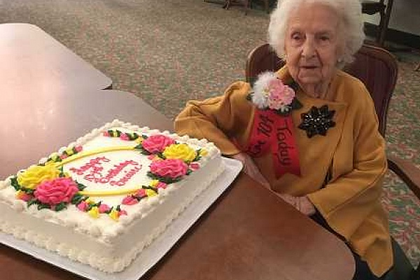 104-year old: 'Just keep trucking!'